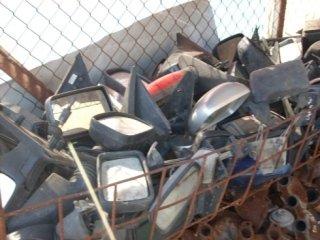 pratiche automobilistiche, pezzi di ricambio usati, specchi