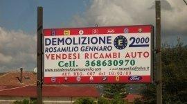vendita ricambi auto, demolizione, auto usate