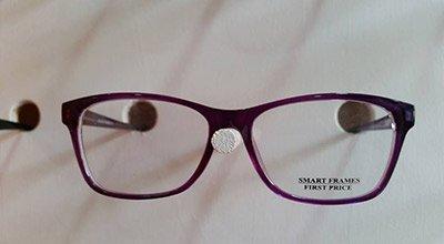occhiali da vista con montatura sottile