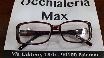 montatura occhialeria Max unisex