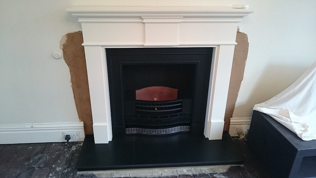 customised fireplace