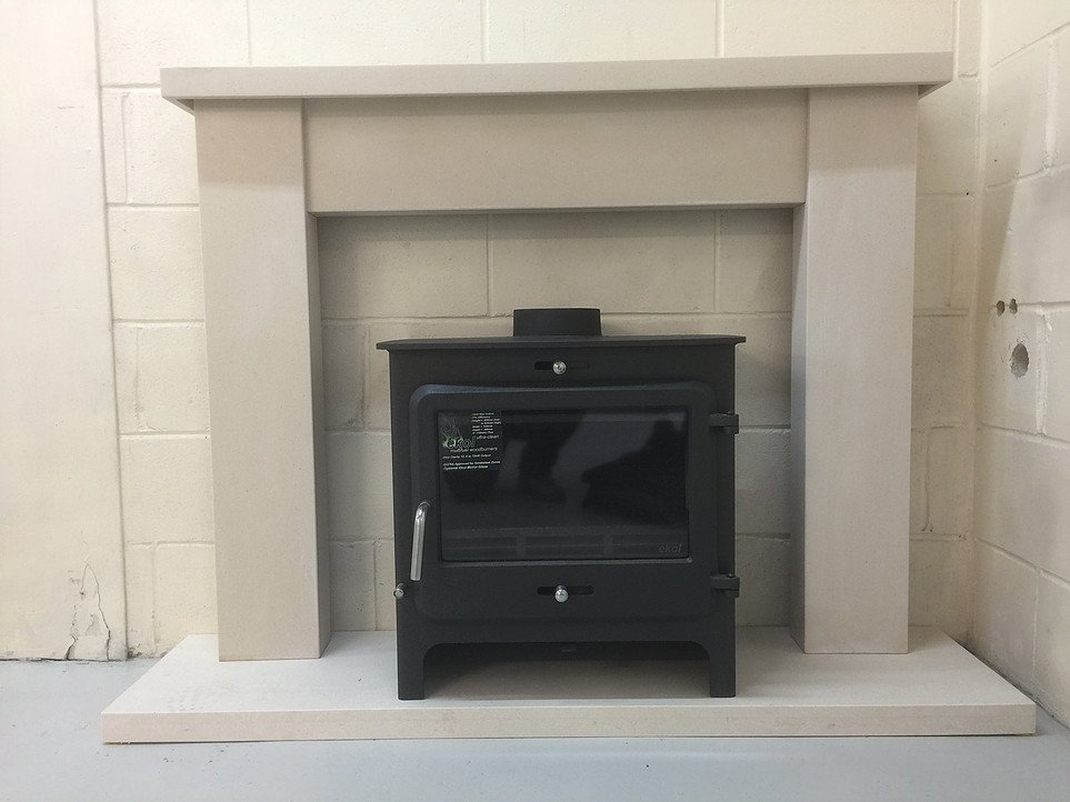 smaller sized fireplace