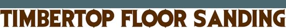 timber top floor sanding business logo
