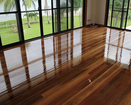 Room after floor sanding services near Northern Beaches