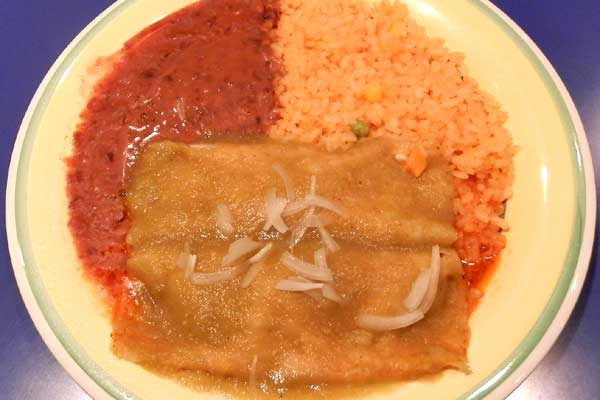 Enchiladas Green Sauce