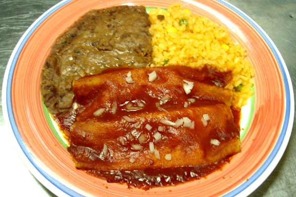 Enchiladas Mole Sauce