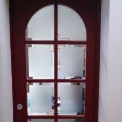 Porta inglese con vetri molati