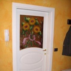 Laccato con vetro decorato