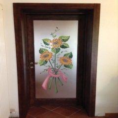 vetro artistico con girasoli