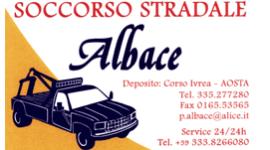 SOCCORSO STRADALE ALBACE - logo