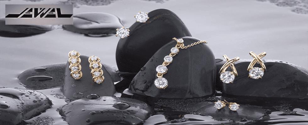 Orecchini, collieri, collane, anelli
