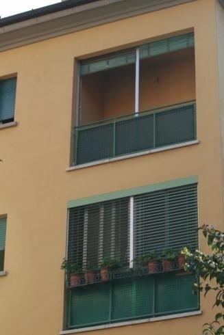 Tende veneziana verdi