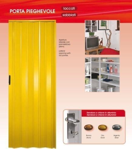 porta laccata gialla