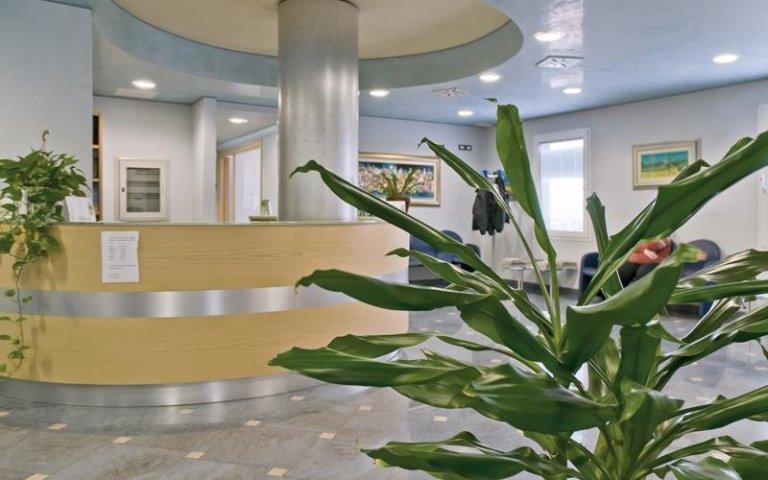 Sala aspetto dentista