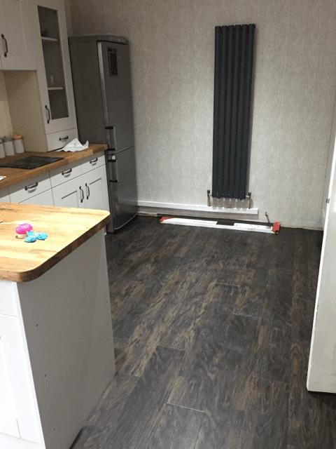 custom designed flooring