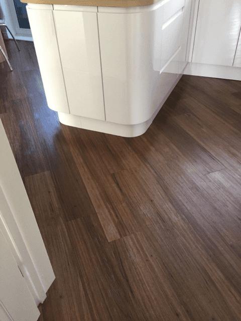 dark brown flooring design