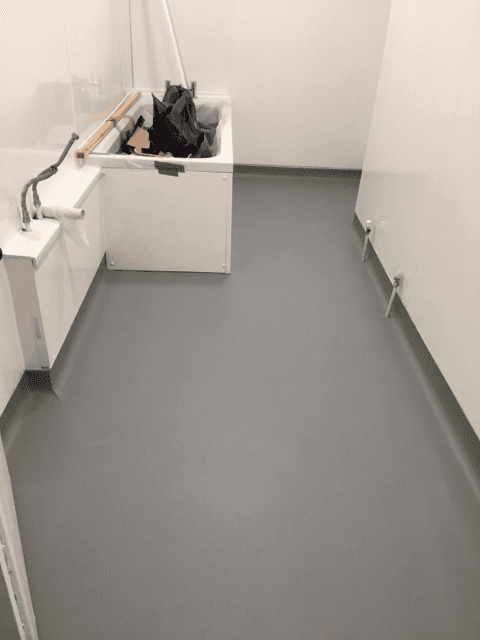 newly fitted flooring