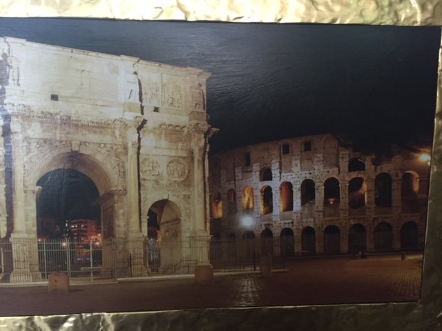 quadro che raffigura Roma