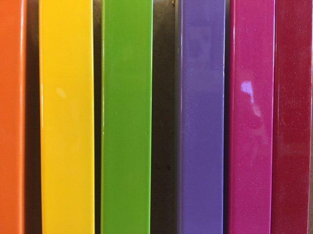 modelli di cornice colori pastello