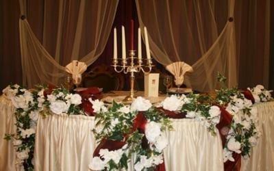 allestimento ristorante per matrimoni