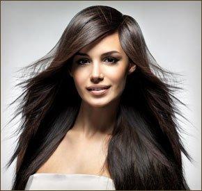 Women's hair styling