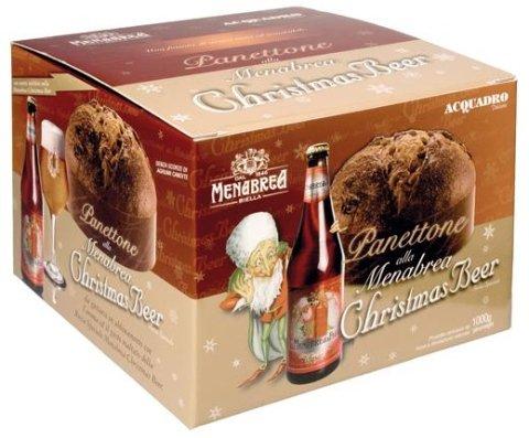 Panettone alla birra Menabrea