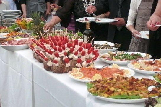 buffet e rinfreschi