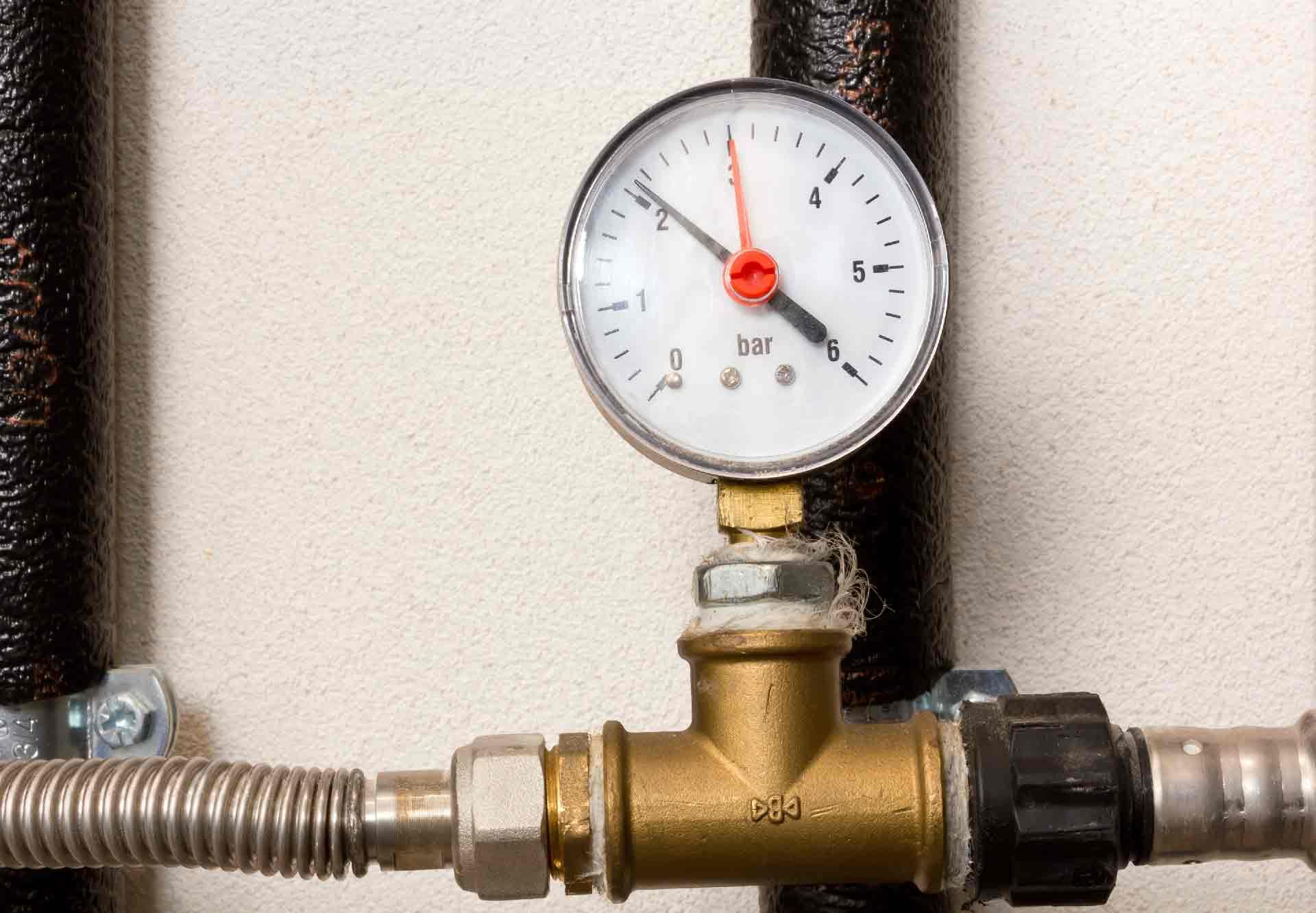 Heater pressure
