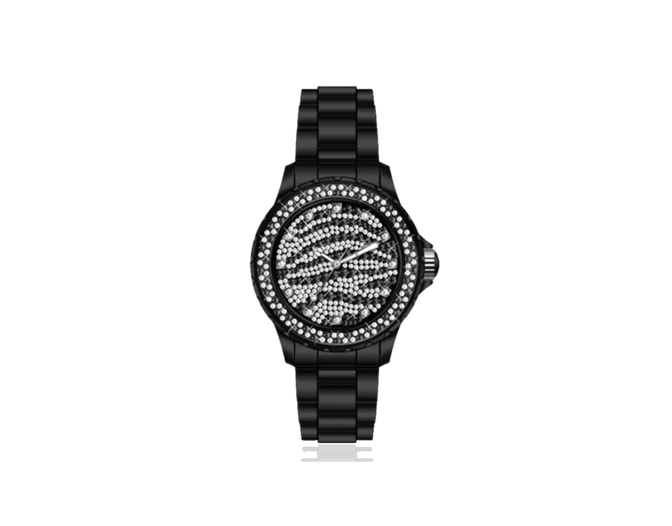 un orologio color nero