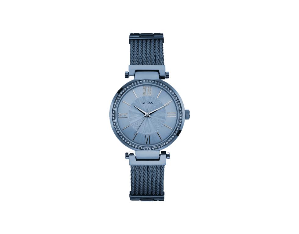 un orologio di Guess argento