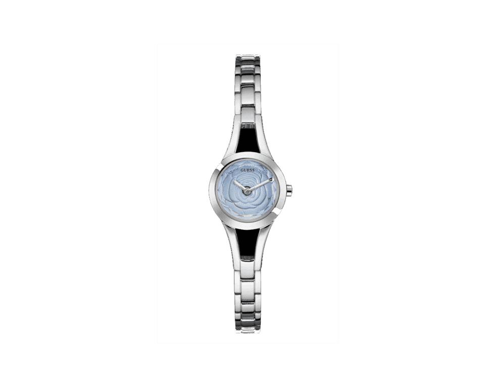 un orologio di Guess di color argento