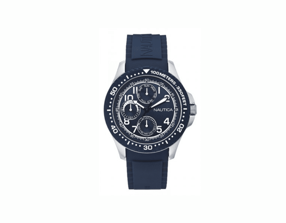un orologio di Nautica blu scuro