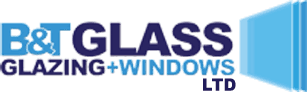 B&T Glass Glazing and windows logo