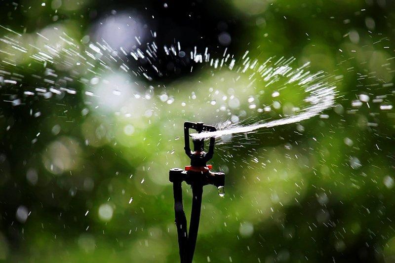 Sprinkler irrigation sprinkler head