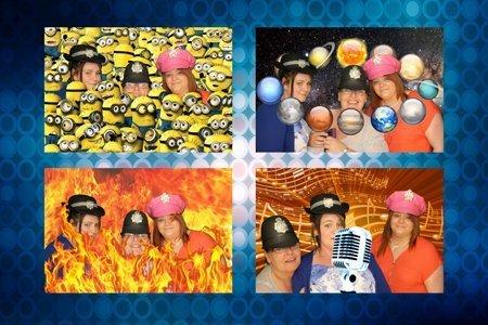 stylish photos through photo booth