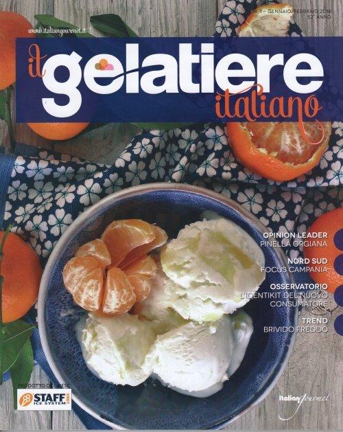 cover della rivista Il Gelatiere Italiano