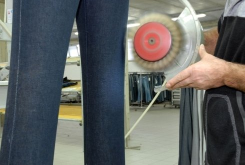 rifinitura jeans