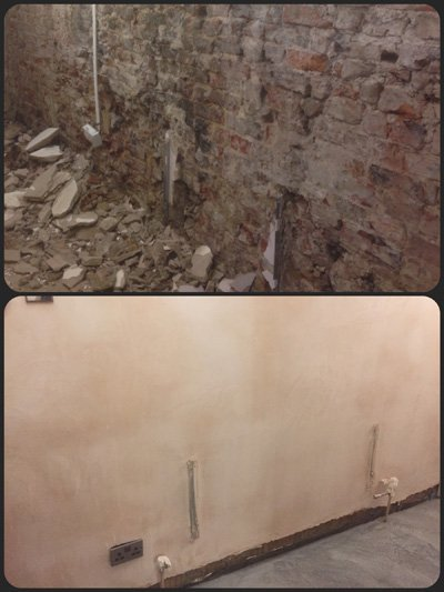 wall renovation