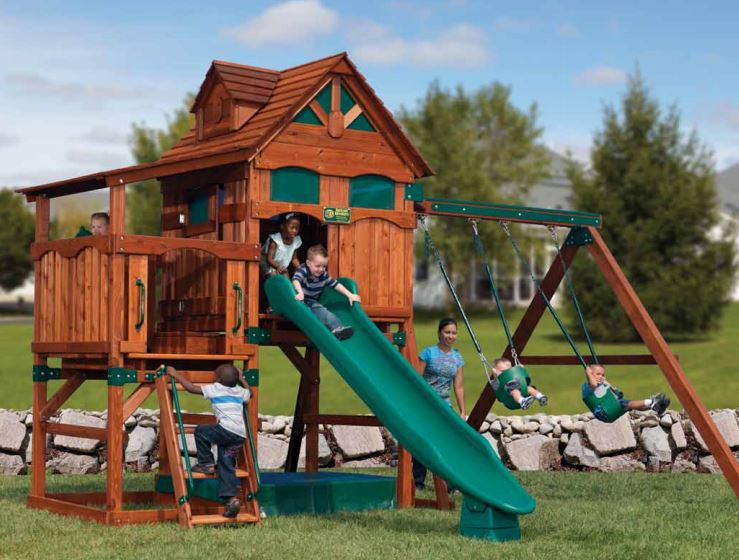 playground set built by Wood Kingdom East - Coram, Long Island, Medford, The Hamptons NY