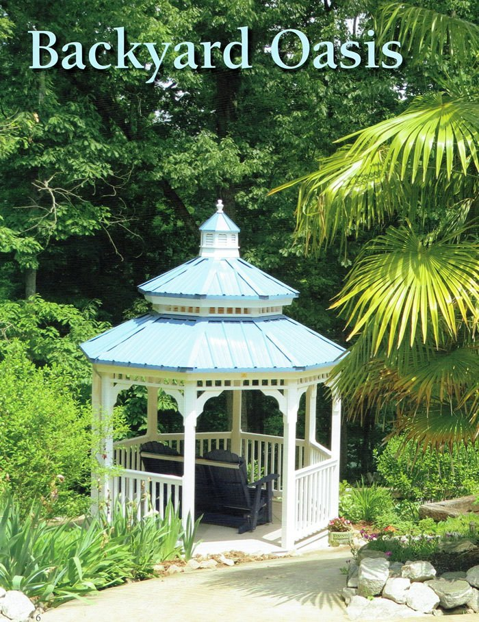 backyard oasis gazebo - Wood Kingdom East