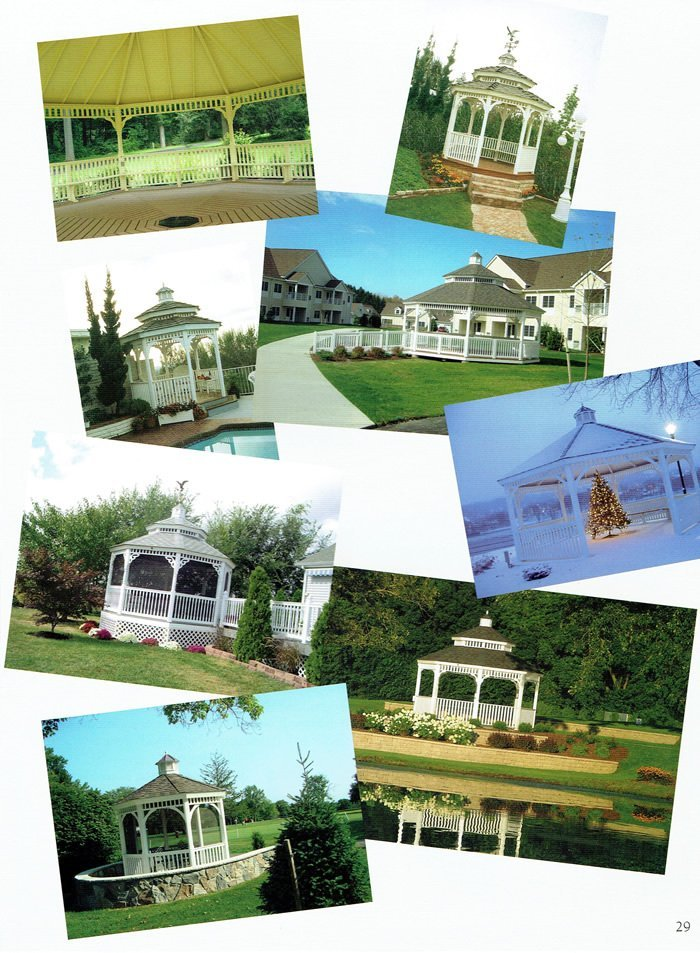 8 styles of gazebo - Wood Kingdom East