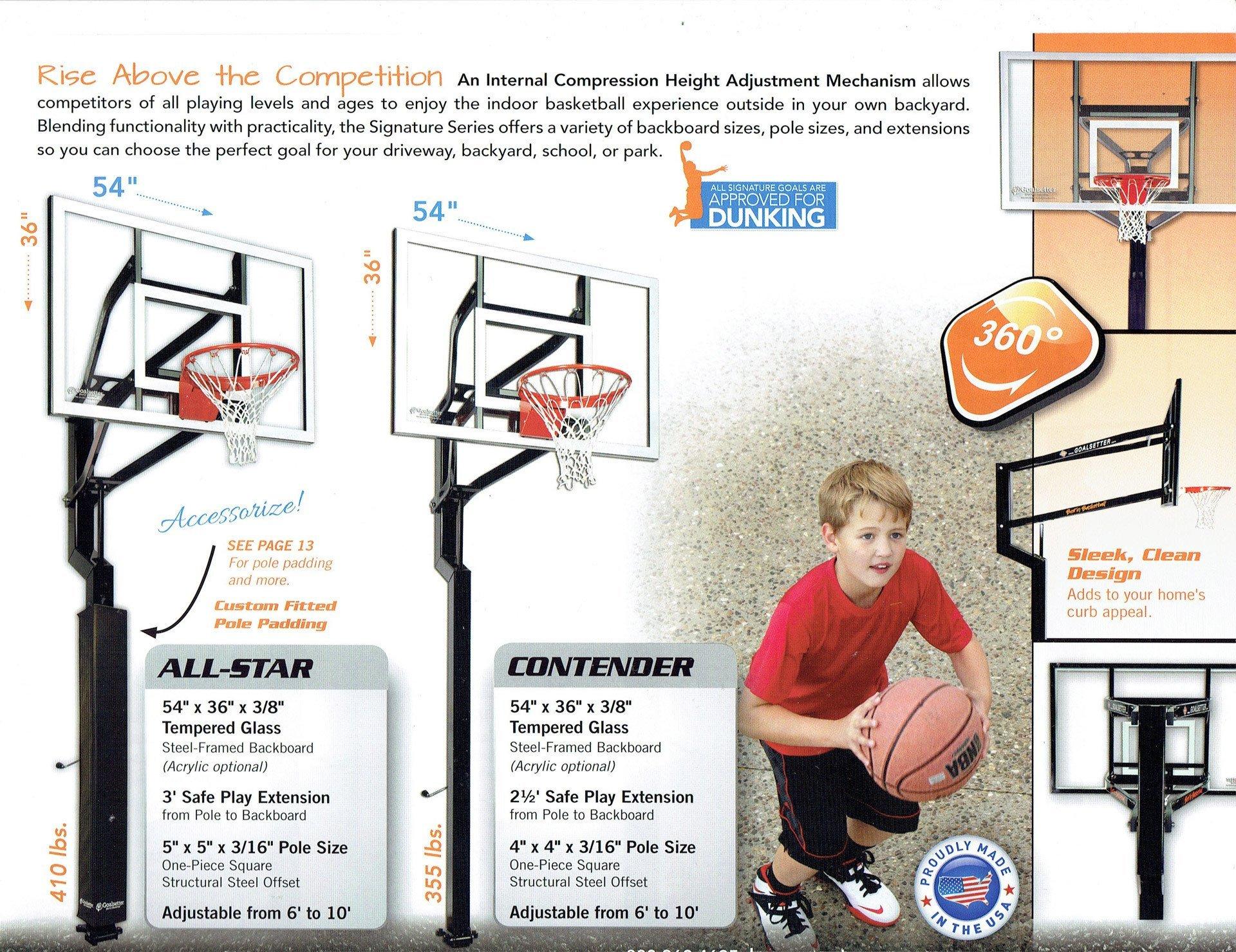 goalsetter basketball systems height adjustment mechanism - Wood Kingdom East - Coram, Long Island, Medford, The Hamptons