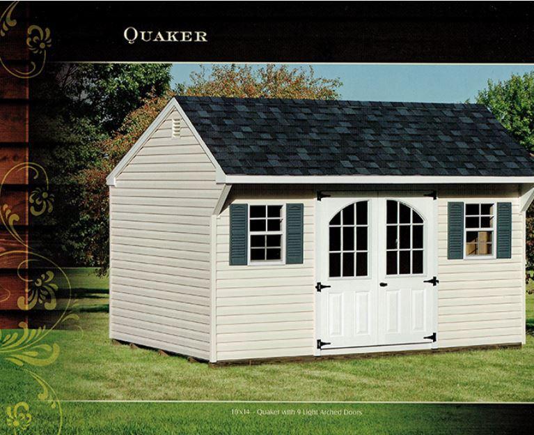 quaker shed - Wood Kingdom East