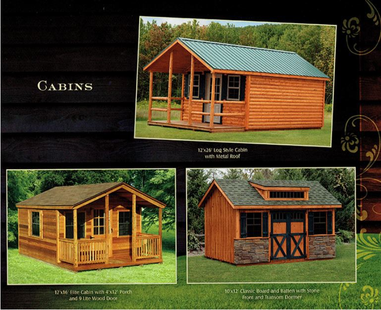 cabins from Wood Kingdom East