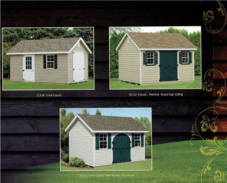 Quality Custom Built Amish Sheds Coram Long Island