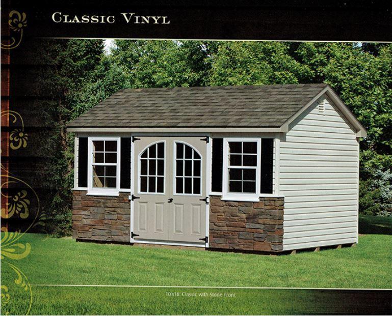 classic vinyl shed - Wood Kingdom East