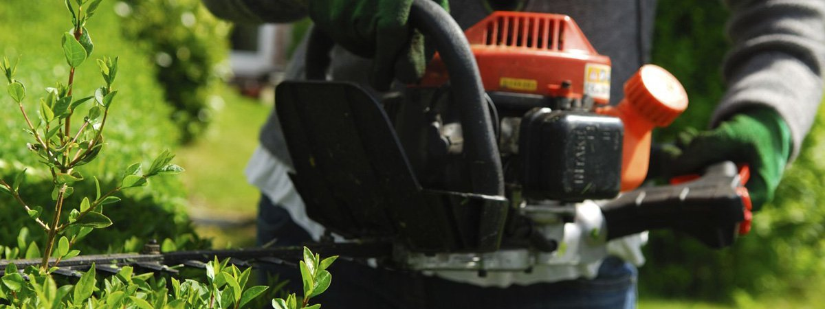 Injak mowers and chainsaws on the Sunshine Coast