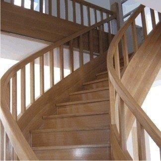 scalinata legno
