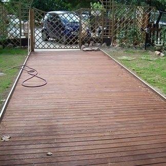 Pavimentazione legno esterni rende cosenza pennetti - Pavimentazione esterna ...