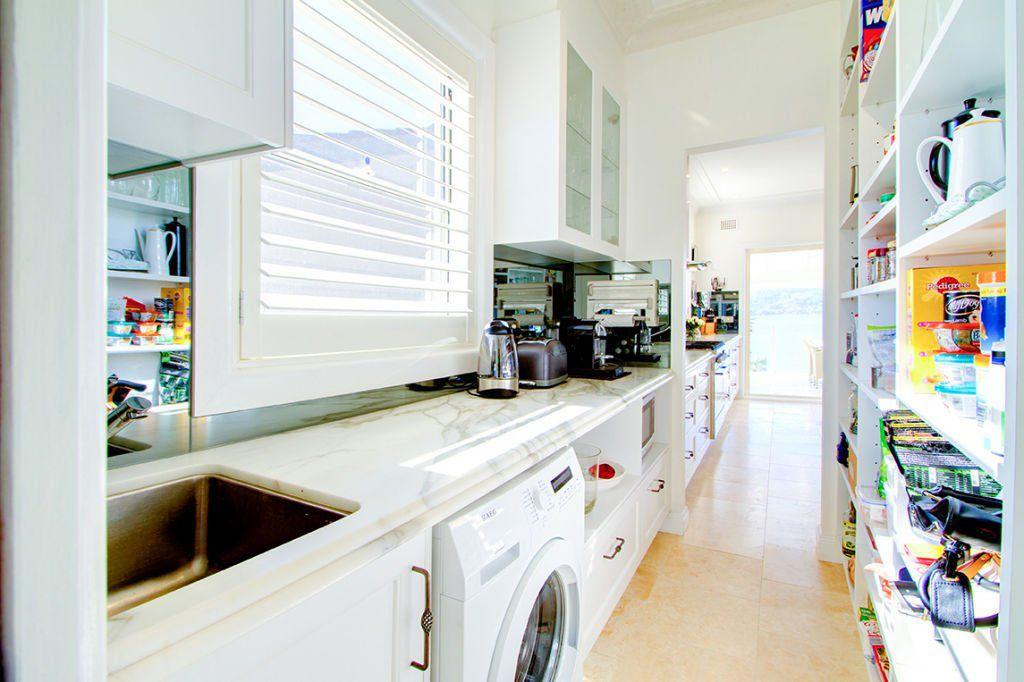 elegant kitchen with good storage